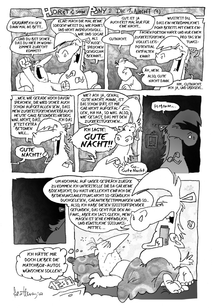 48: Die erste Nacht I